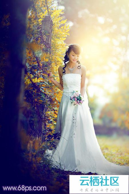ps图片素材人物婚纱