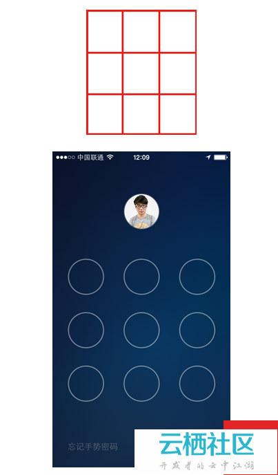 在界面设计中,九宫格这种类型的构图更为规范和常用,用户在使用过程中