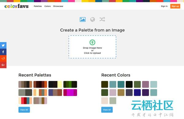 在线色彩搭配工具+快速生成占位图片器-占位图生成