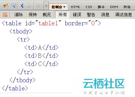 javascript控制台详解-javascript控制台打印