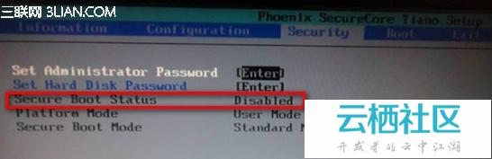 从Win8升级Win8.1后桌面右下角提示SecureBoot未正确配置-secure boot什么意思