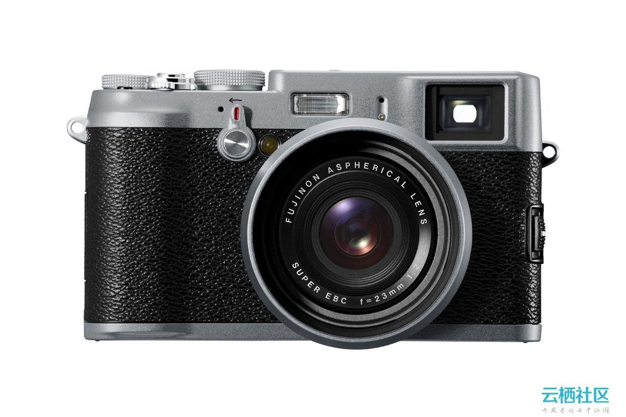 PS绘制一个逼真的富士X100相机图标详细教程-富士x100t