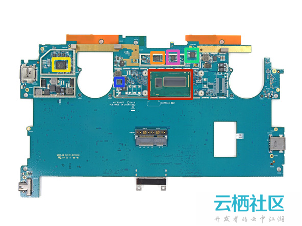 微软Surface Pro 2拆解-surface pro 4 拆解