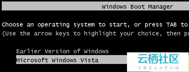 如何双启动Windows XP和Vista-windows vista与xp